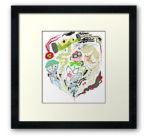 Awful nightmares Framed Print