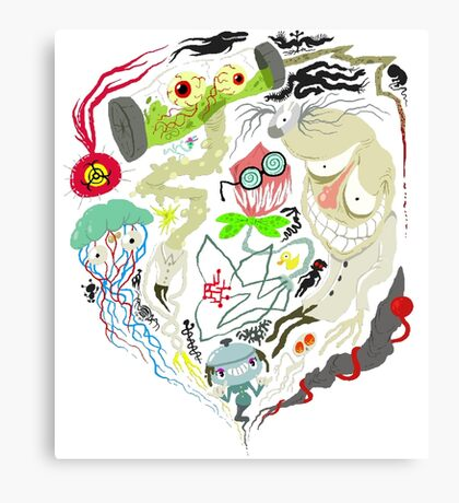 Awful nightmares Canvas Print
