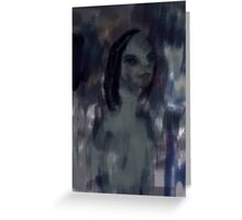 Imaginary Dark Lady Greeting Card