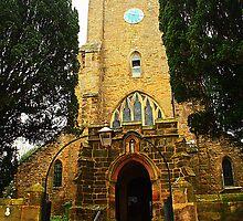St Mary The Virgin, Salehurst - From The West by Dave Godden