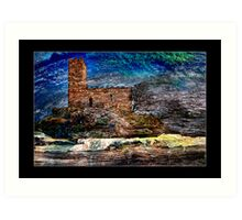 Brent Tor Church Art Print