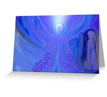PISCES ANGEL!!      PEACE ON EARTH Greeting Card