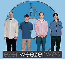 WEEZER - THE BLUE ALBUM. by mcholler