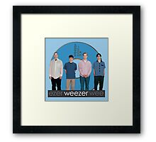 WEEZER - THE BLUE ALBUM. Framed Print
