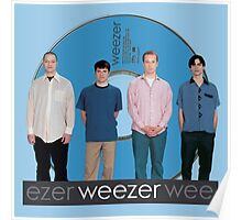 WEEZER - THE BLUE ALBUM. Poster