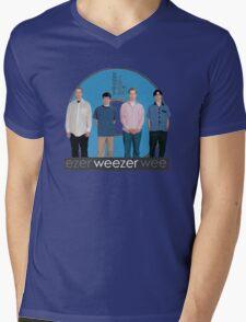 WEEZER - THE BLUE ALBUM. Mens V-Neck T-Shirt