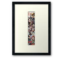 Hannibal - Chibi happy new year 1 Framed Print