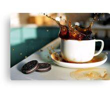 Coffee Splash! Canvas Print