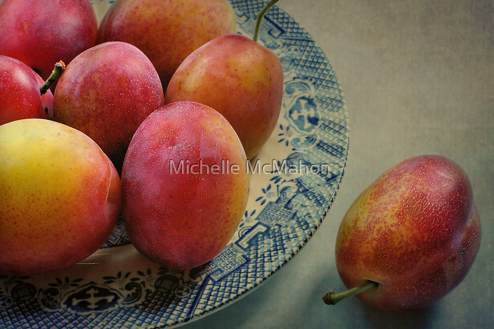 Plums.. by Michelle McMahon
