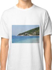 Agios Ioannis beach, Meganissi, Greece Classic T-Shirt