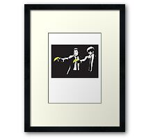 bansky Framed Print