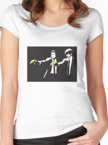 bansky Women's Fitted Scoop T-Shirt