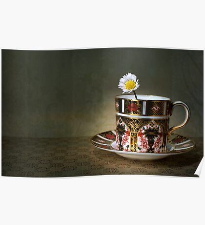 daisy cup.. Poster