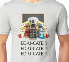 Educate not Exterminate  Unisex T-Shirt