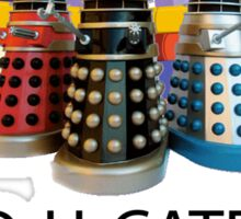 Educate not Exterminate  Sticker