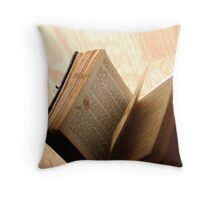 Private Library III Throw Pillow