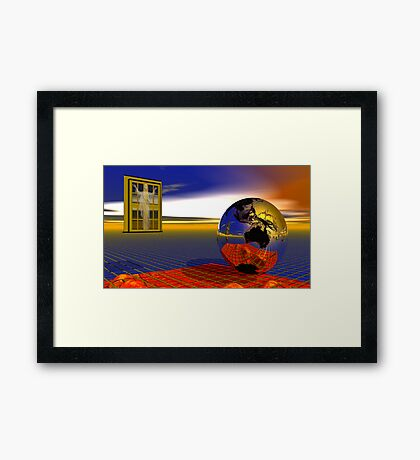 At Heaven's Door Framed Print