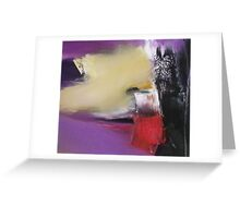 Abstract Cityscape/Landscape Greeting Card