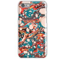 Psychedelic Marbled Paper Splash Blob iPhone Case/Skin