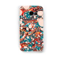Psychedelic Marbled Paper Splash Blob Samsung Galaxy Case/Skin