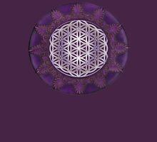 Sacred Geometry: Flower of Life VII - Framed T-Shirt