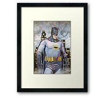 Original Art BATMAN Framed Print