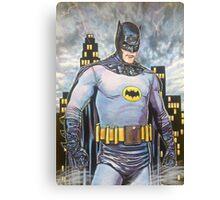 Original Art BATMAN Canvas Print