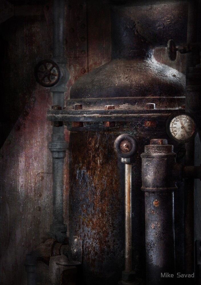 Steampunk - Handling Pressure  by Mike  Savad