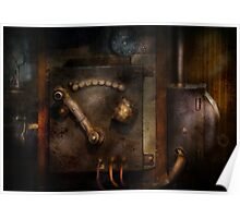 Steampunk - The Control Room  Poster