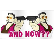 And now? Poster