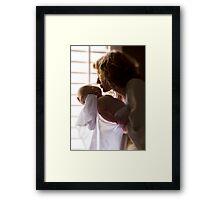 Kisses for Ezra Framed Print
