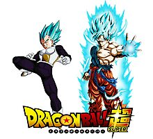 Goku & Vegeta SSGSS Photographic Print