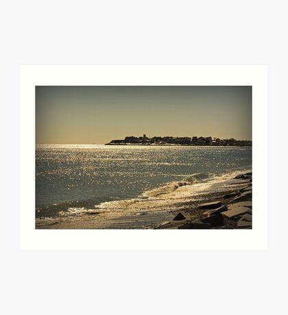 View of Hampton Coast Art Print