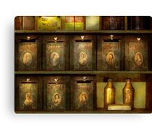 Chef - Ingredients - The spice extends life  Canvas Print