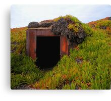 Rusting WWII Bunker Canvas Print