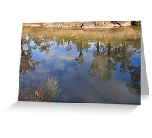 Outback Reflections Greeting Card