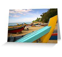 Crash Boat Greeting Card