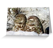 Just act casual and maybe no one will notice us! Greeting Card
