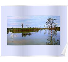 The quiet Murray inlet Poster