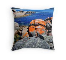 Tasmania East Coast Throw Pillow