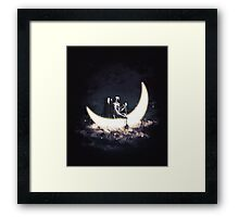 Moon Sailing Framed Print