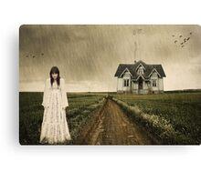 Rain.... Canvas Print