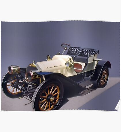 "*•.¸♥♥¸.•*Love Antique Cars ""Packard Runabout""*•.¸♥♥¸.•* Poster"
