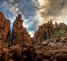 The Pinnacles lost city, Woolamai Phillip Island by Philip Greenwood