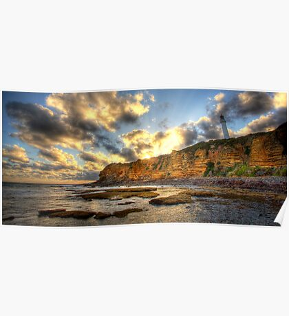 Plit Point Lighthouse, Aireys Inlet Victoria Poster