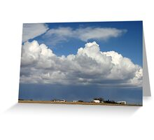 Under the Clouds Greeting Card