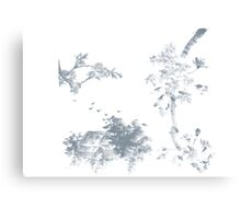 Sumi-e inspired (01) Canvas Print