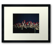 British Soldiers In The Darkness Framed Print