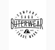 saga outerwear logo Unisex T-Shirt