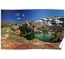 Lake Blanche, Utah, Summer Poster